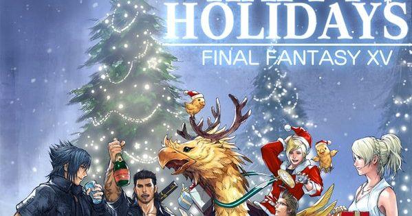 Merry Christmas Final Fantasy XV #FFXV 15 happy holidays | dms ...