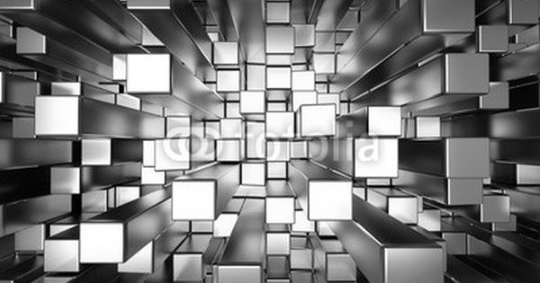 3D Abstract Squares Extruded Bedroom Wall Murals Wallpaper Painting Home Decor