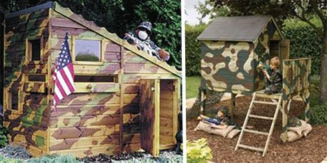 Playhouse Outdoor Clubhouses