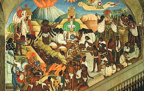 Rivera 1929 national palace mexico city mexico art for Diego rivera mural 1929