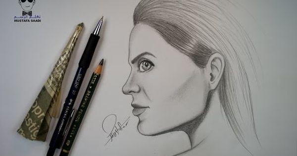 How To Draw By Mustafa Saadi Drawings Female Sketch Male Sketch