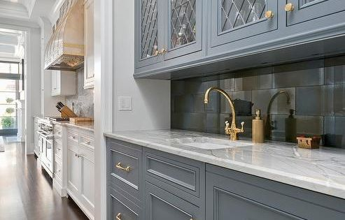 Benjamin Moore Gunmetal Is The Cabinetry Color Our