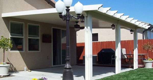 DIY Aluminum Patio Cover Kits The Kit Includes Everything Needed All Parts