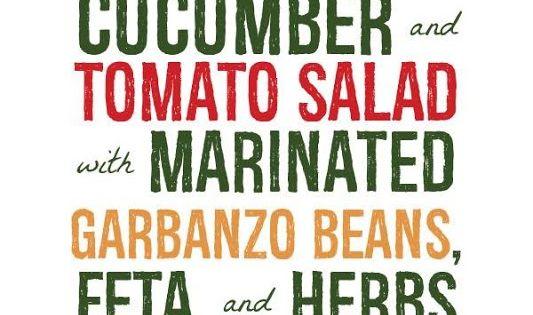 Tomato salad, Feta and Beans on Pinterest
