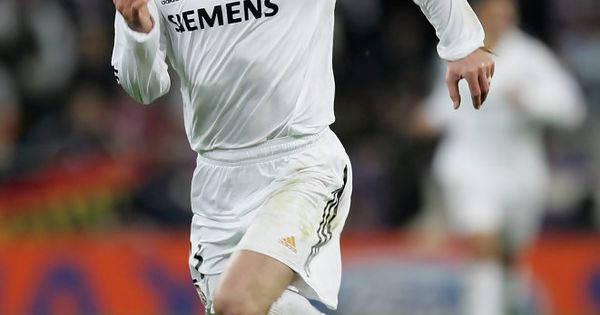 David Beckham Of Madrid In Action During The Uefa Champions League