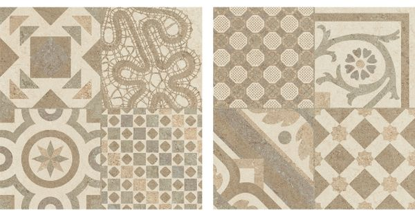 carrelage beige imitation d cor carreau ciment 45x45 cm