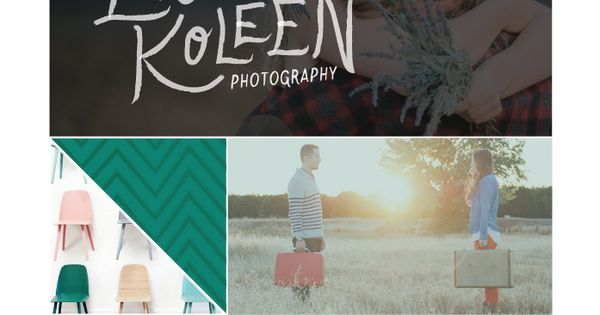 Logo, color palette, inspiration board, and other design ideas in this brand