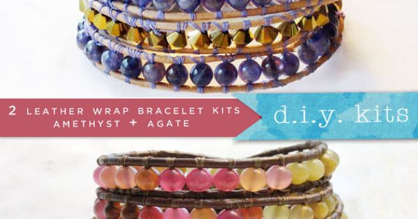 Make your own beautiful bracelets with this fun DIY kit.