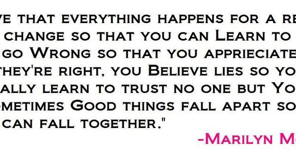 Marilyn Monroe Quotes- so true