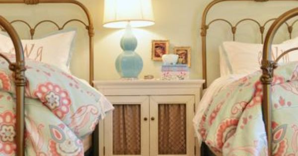 cute girls room - like the bed iron bed frames