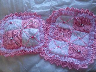 Beginners Easy Knit Blanket For A Dolls Pram Knitting Pattern
