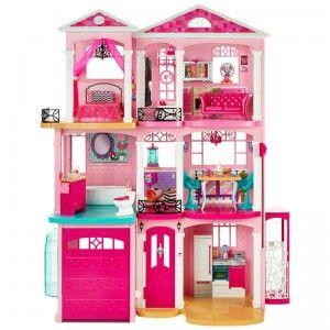 Barbie Dreamhouse From Mattel Barbie Dream House Barbie Dream Dream House Rooms