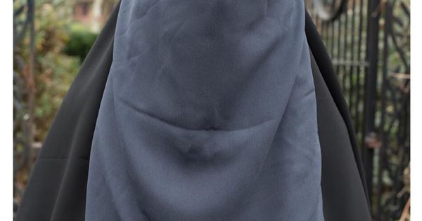 Daralfrenchie See Without Being Seen This One Layer Flap Niqab