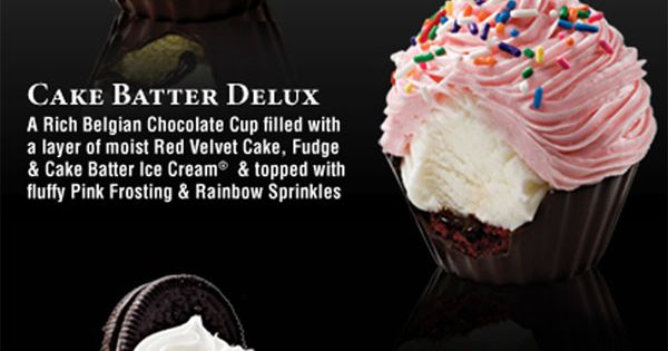 Filled Cupcakes. I know these are Coldstone's but this is your next