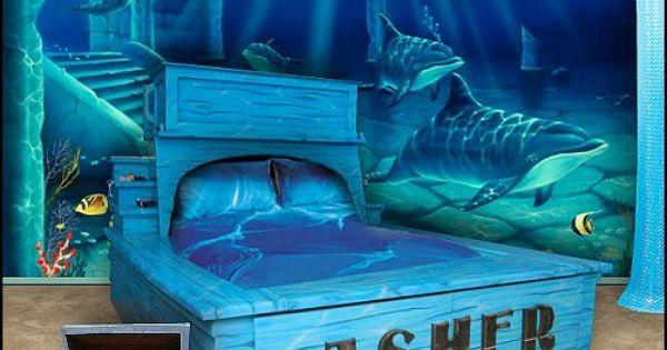 Room ideas decorating theme bedrooms maries manor for Underwater bedroom designs