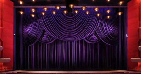 Rose Brand Indiana University Musical Arts Center Project Stage Curtains Theatre Curtains Dark Curtains