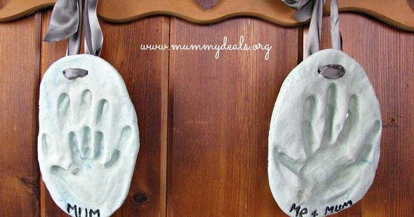 Mother's Day Craft For Kids – Salt Dough hanging - don't bother