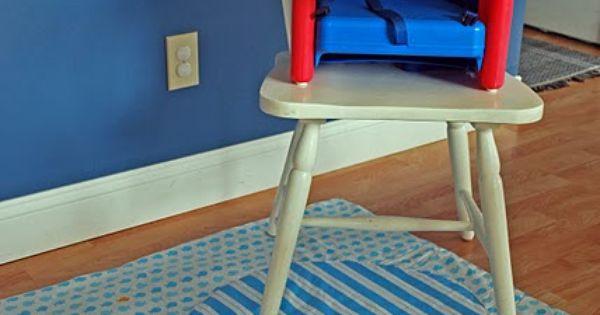 Diy Vinyl High Chair Spill Mat Kama Boy Pinterest