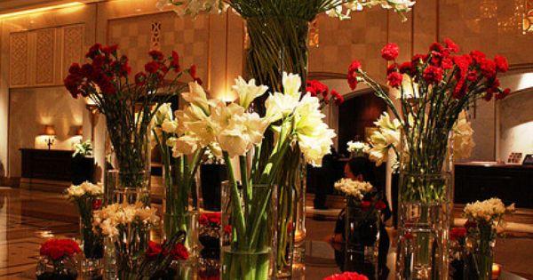 New orleans ritz carlton hotel lobby floral arrangements