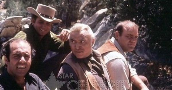 BONANZA 8X10 PHOTO TV LORNE GREENE PERNELL ROBERTS DAN BLOCKER MICHAEL LANDON