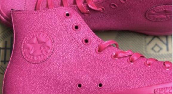 Converse CTAS Chuck Taylor All Star HI Vivid Pink//Vivid Pink