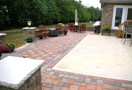 Pin By Heather Spring On Garden And Outdoors Concrete Patio