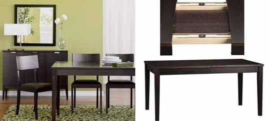 Chi Scavenger Crate Barrel Madison Dining Table For 280