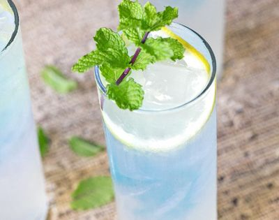 Blue Raspberry Spiked Lemonade Cocktail Recipe