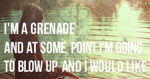 Im a grenade the fault in our stars quotes from books pinterest