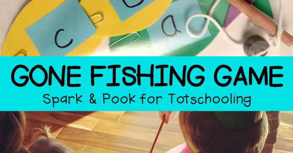 Gone fishing game for preschoolers gone fishing math for Gone fishing game