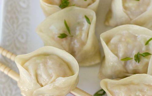 Dumplings, Shrimp and Pork on Pinterest