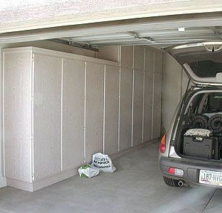 How To Build Plywood Garage Cabinets Garage Cabinets Diy Garage