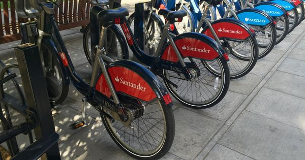 Santander Cycles Is A Public Bicycle Hire Scheme In London United