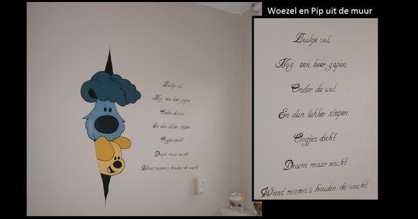 xio's muurschildering - muurschildering babykamer, Deco ideeën