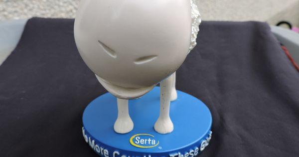 Nodder Serta Sheep No 1 Noder Resin Bed Mattress Mascot Blue Etsy Cute Sheep Sheep Counting Sheep