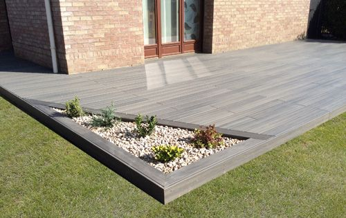 Am nagement jardin modification terrasse terrasse en bois arras 62 jardin pinterest - Idee terrasse ...