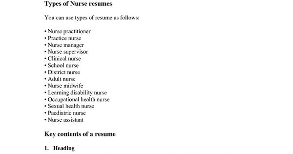 monash university resume examples student samples sample resumes - occupational health nurse sample resume