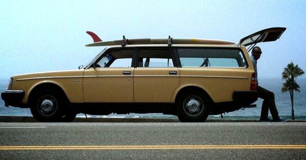 Mustard Yellow 1983 Volvo 240 DL wagon, hopefully my Valerie will sport