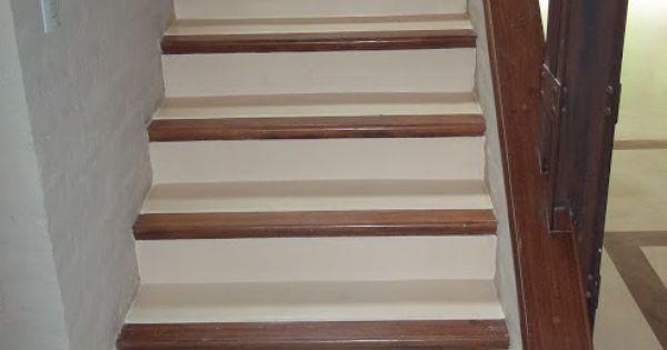 Escalera en cemento alisado buscar con google for Escalera interior barata