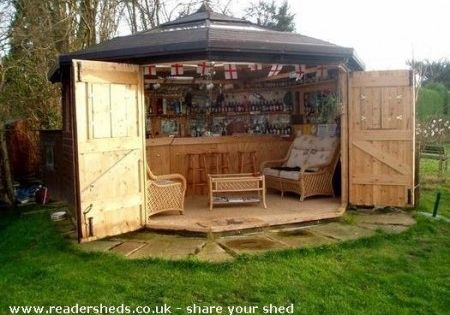 Man Cave Sheds Benalla : Move over man caves there s a new trend on the rise bar