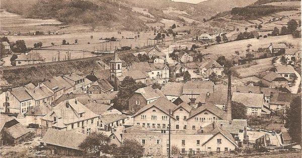 Vue Generale De St Blaise A Linsdorf Cartes Postales Anciennes