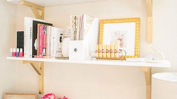 Inspiring feminine home office decor ideas for your dream job idee n voor het huis pinterest for Home office ideeen
