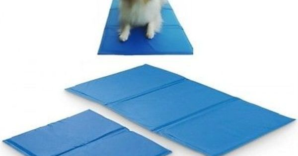 Pet Cooling Gel Mat For Dogs Naturally Stays Cooler Than Your