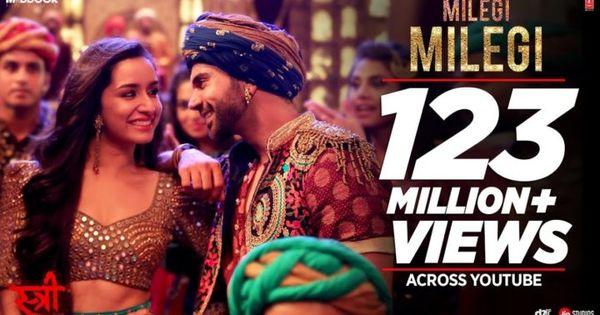 Milegi Milegi Video Song Stree Mika Singh Sachin Jigar Rajkummar Rao Shraddha Kapoor T Series Mika Singh Bollywood Songs Songs