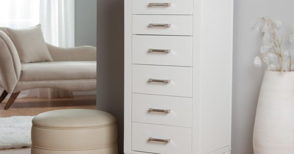 Have To Have It Hadley Floor Jewelry Armoire High Gloss