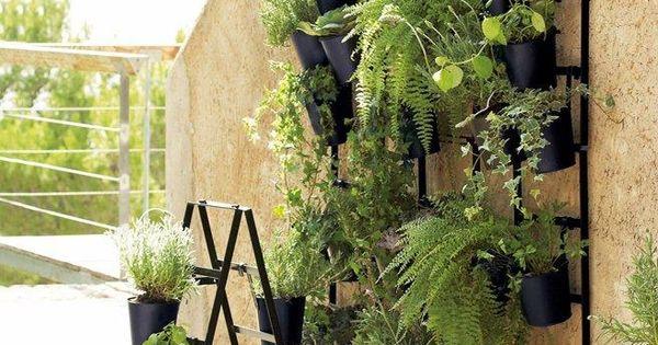 id e d co jardin un mur v g tal l ext rieur http. Black Bedroom Furniture Sets. Home Design Ideas