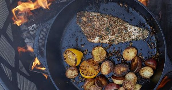 Grilled Largemouth Bass With Pecan Herb Crust Recipe Large
