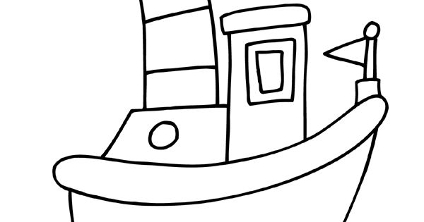 kleurplaat peuter kleurplaat boot kleurplaten nl kdv