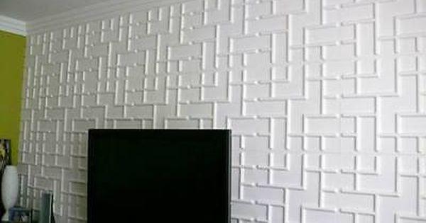 3d Wall Panels Tetris Box Of 12 32 29 Sqft Free Shipping Buy 2 Boxes Ebay Textured Wall Panels 3d Wall Panels Wall Panel Design