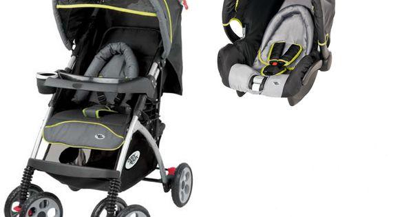 baby relax poussette b b pack duo emoji noir et gri prix promo ttc. Black Bedroom Furniture Sets. Home Design Ideas